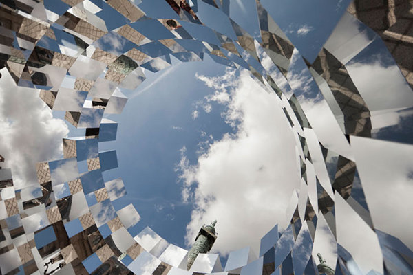 Ring-Mirror-Installation-by-Arnaud-Lapierre-2