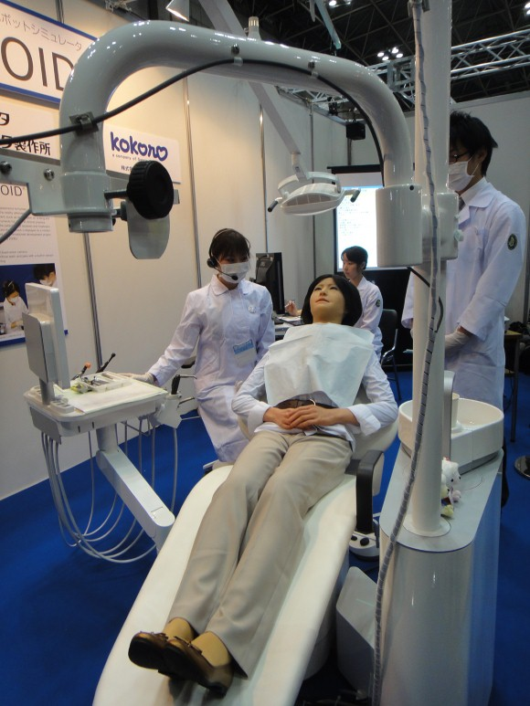 16 Custom1 Simroid Dental Training Humanoid, The Humanoid Robot Patient!