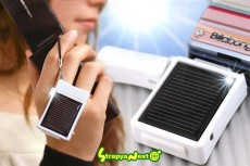 Mobile phone charger: Solar ofcourse....