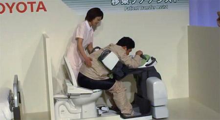 Toyota health robots