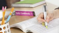fading highlighter pen