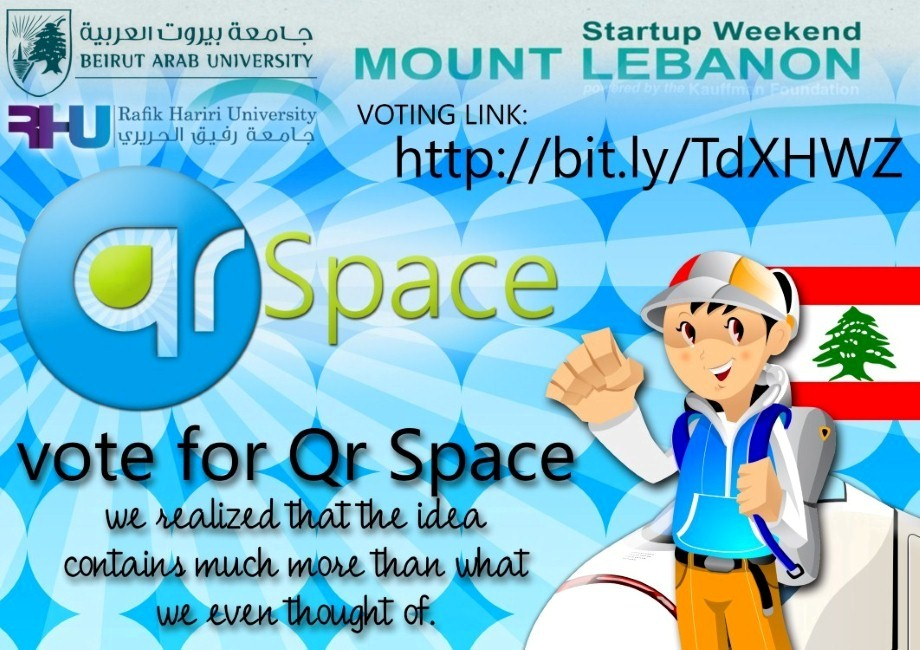 qrspace rhu LIMITED VERSION Vote for CoolesTech Team, representing RHU, BAU, & Lebanon in an International Contest!