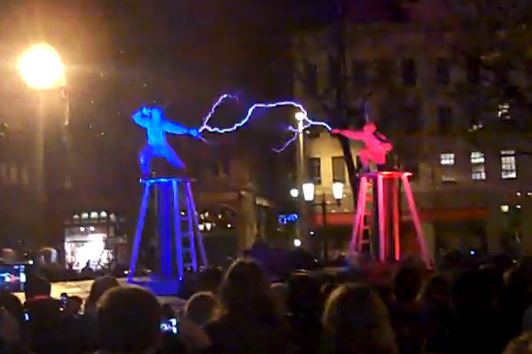 tesla coil fight1           