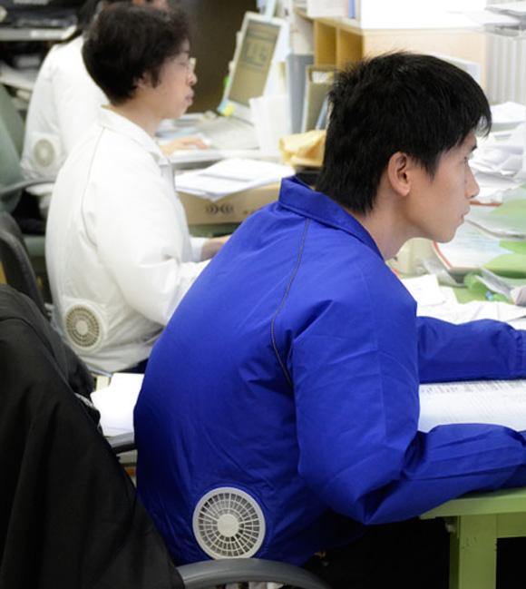 ac ρούχα Cool κλιματισμός jacket από Kuchofuku