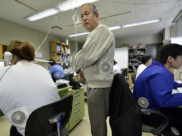 Ιαπωνία σακάκι κλιματιστικό 2 580x4341 Cool κλιματισμός jacket από Kuchofuku